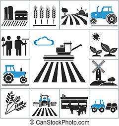 חקלאות, איקונים