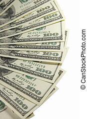 חשבונות של דולר, one-hundred, צרור