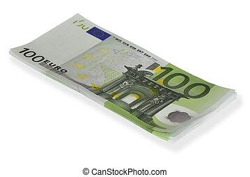 חשבונות, 100€, הפרד, לגוז, לבן