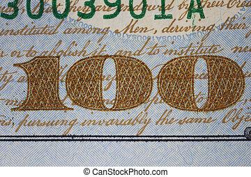 חשבן, דולר, פרט, אותנו, מישהו, חדש, מאות