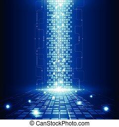 חשמלי, טליקום, תקציר, להנדס, וקטור, רקע, עתיד, טכנולוגיה
