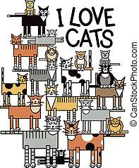 חתולים, אהוב