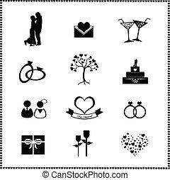 חתונה, קבע, איקונים