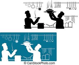 טבחים, בישול