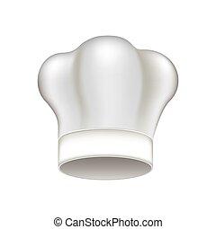 טבח, כובע לבן, איקון