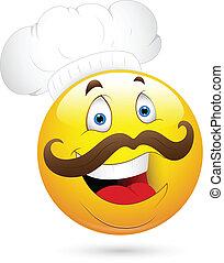טבח, שמח, פנים של סמילאי