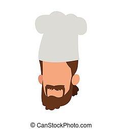 טבח, avatar, ציור היתולי