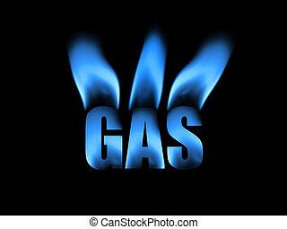 טבעי, תקציר, גז