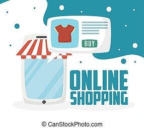 טכנולוגיה, קדור, קניות אונליין