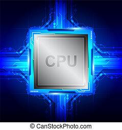 טכנולוגיה של מחשב, מעבד