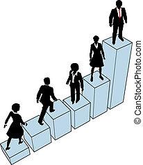 טפס, עמוד, שרטט, אנשים של עסק