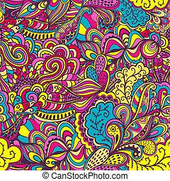 טקסטורה, קיץ, template., רקע., pattern., רקע., רשת, תבנית, עמוד, seamless, וקטור, אין סופי, מואר, תקציר, אתני, רקע, טפט, flowers., התמלא, השתמש