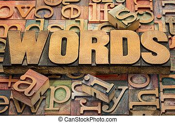 טקסט, עץ, הדפס, מילים