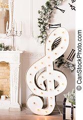 טרבל, מושג, -, מוסיקה, כלאף, חג המולד