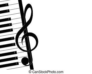 טרבל, פסנתר, כלאף