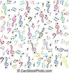 טרבל, רואה, music., כלאף, צבעוני