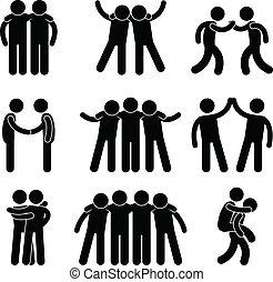 ידידות, ידיד, מערכת יחסים, התחבר