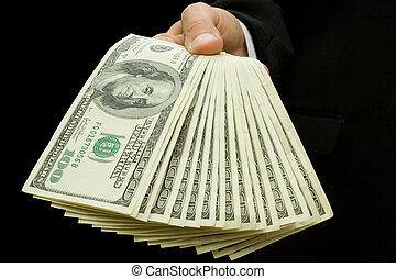 ידיים, כסף