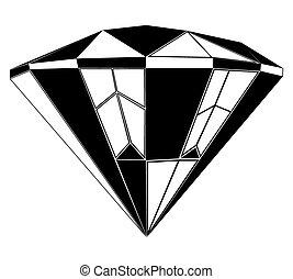 יהלום, תאר