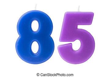 יום הולדת, 85th, הפרד, נרות