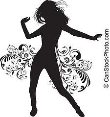 ילדה, לרקוד