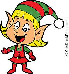 ילדה, שדון, חג המולד