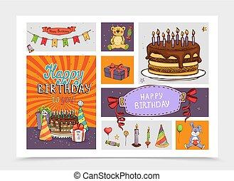 יסודות, יום הולדת, יד קובעת, צייר, מפלגה