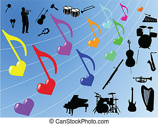 יסודות, מוסיקה