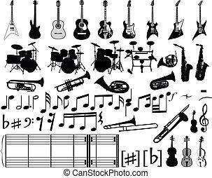 יסודות, מוסיקלי