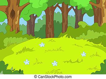 יער, קרחת יער
