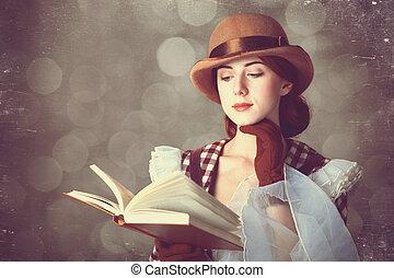 יפה, ג'ינג'י, book., נשים