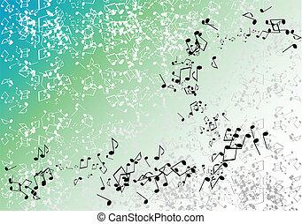 ירוק, מוסיקה