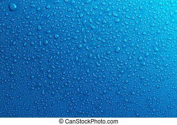 ירידות, רקע, השקה, כחול