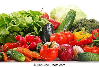 ירקות לא מבושלים, מיגוון