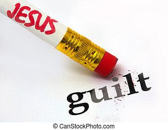 ישו, אשמה, -