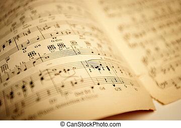 ישן, מוסיקה של דף