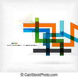 ישר, קוים, עסק, צבעוני, דפוסית