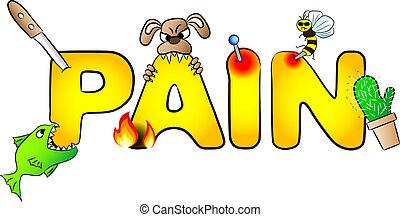כאבים, כאב, הרבה