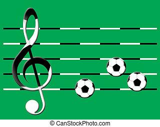 כדורגל, מוסיקה