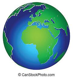 כדור ארץ של כוכב הלכת, גלובלי, איקון, עולם