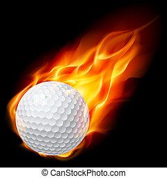 כדור אש, גולף