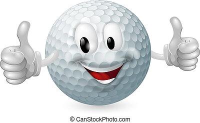 כדור, גולף, קמיע
