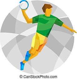 כדור יד, שחקן, תקציר, תבניות