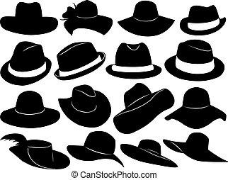 כובעים, דוגמה