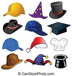 כובעים, שונה