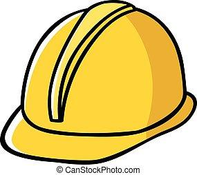 כובע, בניה, עובד קשה