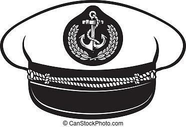 כובע, סרן