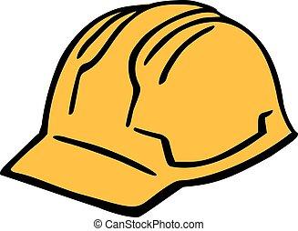 כובע, קשה