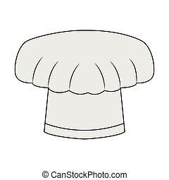 כובע של טבח, הפרד