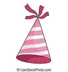 כובע של יום ההולדת, ציור היתולי